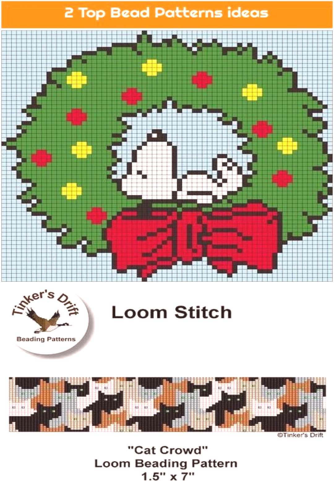 1. Loom Pattern, Cat Crowd, Loom Beaded Bracelet Pattern, Instant Download PDF We are want to say t