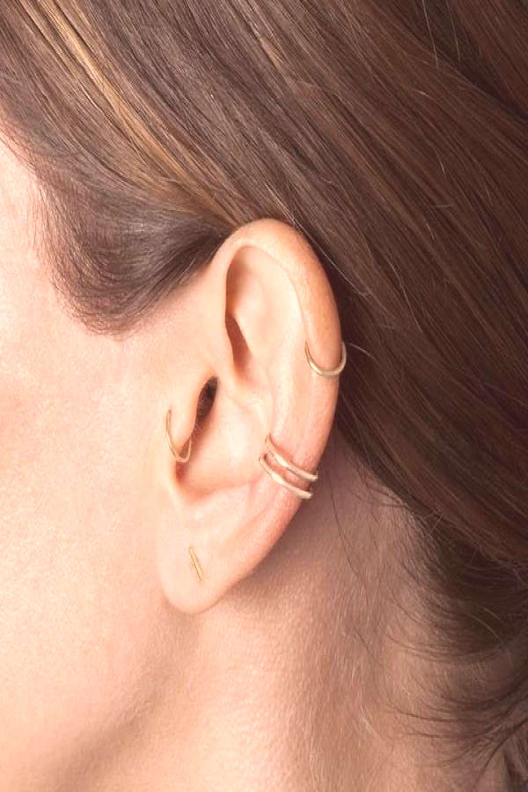 10 unique and beautiful ear piercing ideas, from minimalist studs to extravagant jewels - We've