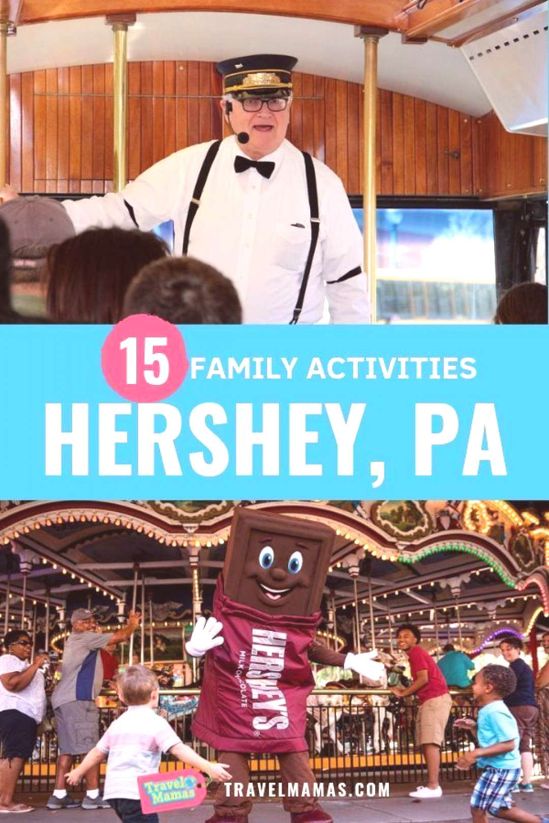 15 fun things to do in Hershey, Pennsylvania with kids | Travel moms 15 fun things to do in Hershey