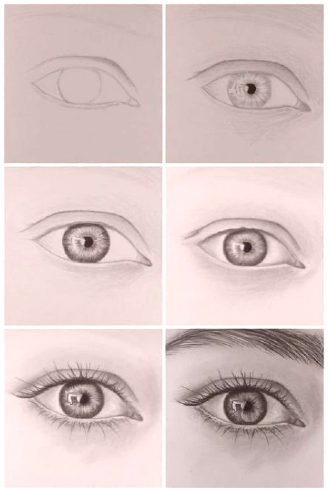 20+ Trendy Drawing Eyes Step By Step Realistic Pencil Portrait 20+ Trendy Drawing Eyes Step By Step