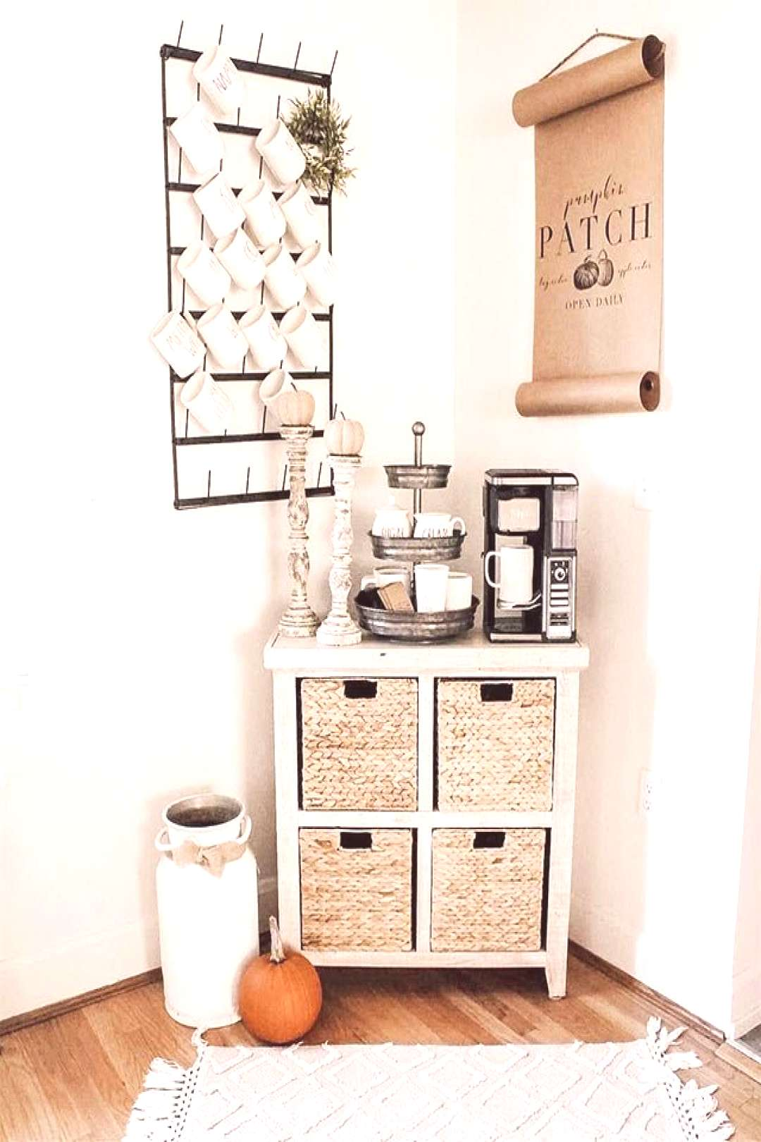 26 Home Coffee Station Ideas to Help You Quit Starbucks | Posh Pennies - Coffee bar home
