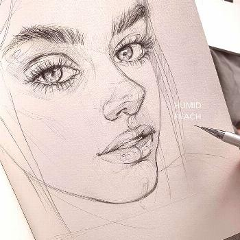 ? Magic artworks ? To see more sketches ? ? Which one is the most beautiful? ? • A