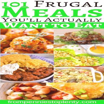 101 frugal meals you would really like to eat - from pennies to plenty 101 frugal meals you would r