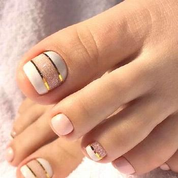 48 Adorable Easy Toe Nail Designs You Will Love - Skin beauty is one of the most sensitive areas fo