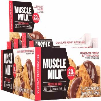 68 Muscle Milk Protein BarChocolate  Muscle Milk Protein BarChocolate Peanut Butterg Protein Oz cou
