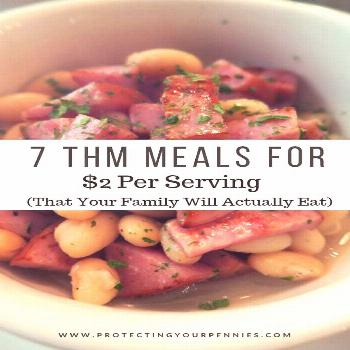 7 Frugal Trim Healthy Mama Dinners Under $2 per serving. Trim Healthy Mama doesn't have to be expen