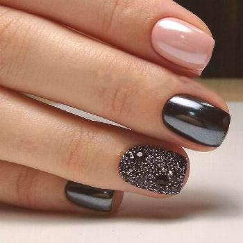 99+ Trending Black Nails Art Manicure Ideas 99+ Trending Black Nails Art Manicure Ideas; Black coff