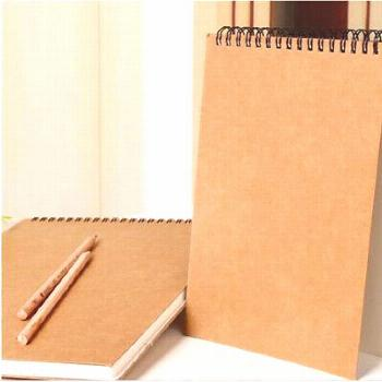A5 30 Sheets Artist Hard Cover Sketchbook School Art Painting Drawing Supplies