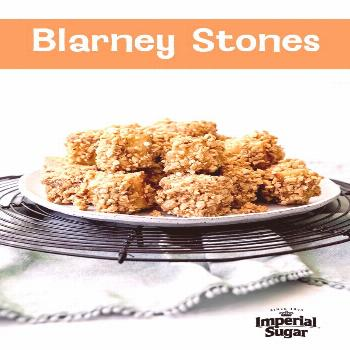 Blarney Stones - This is a St. Patrick's Day tradition for many in the Rich cubes of pound are co