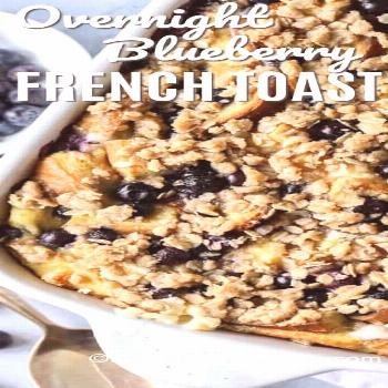 Blueberry French Toast Bake - Spend With Pennies - -