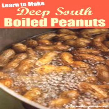 Boiled Peanuts History and Recipe -