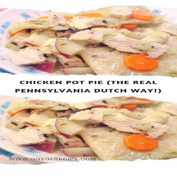 Chicken Pot Pie (The Real Pennsylvania Dutch Way!) – Page 2 – One Of Recipe -  Chicken Pot Pie