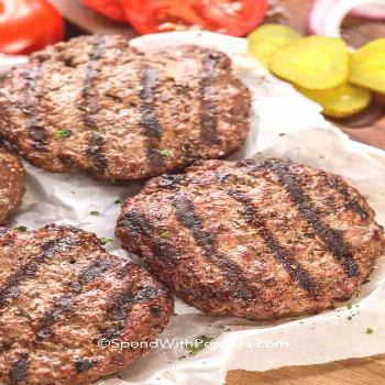 Classic Hamburger Recipe - Spend With Pennies - -