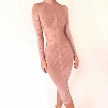 Cleo Bandage Bodycon Dress