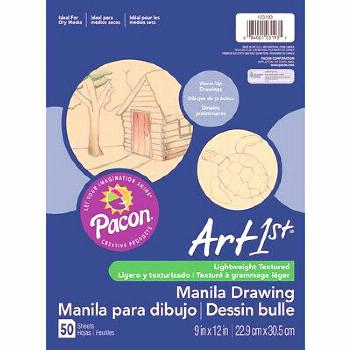 CREAM MANILA DRAWING PAPER 9 X 12 50SHTS