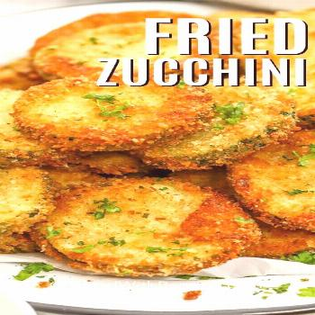 Crispy Fried Zucchini - Spend With Pennies  -