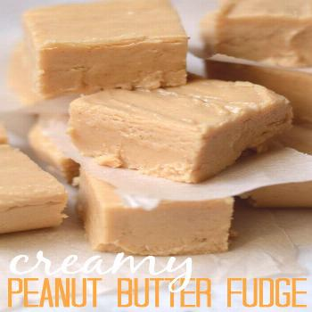 Easy Peanut Butter Fudge Delicious and creamy peanut butter fudge with only four ingredients! The s
