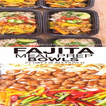 Fajita Meal Prep Bowls - Spend With Pennies,  Fajita Meal Prep Bowls - Spend With Pennies,
