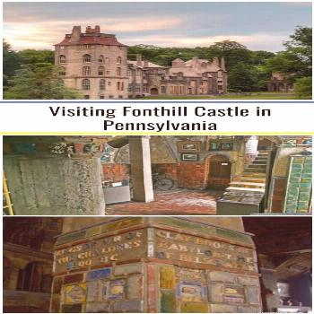 Fonthill Castle in Doylestown Pennsylvania is the most amazing castle in PA.