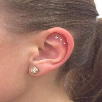 Found a new piercing I want to get now: Triple outer conch. -  Found a new piercing I want to get n