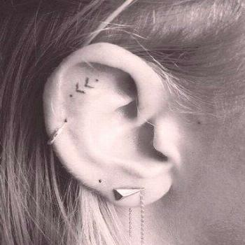 From small to large: these are the coolest tattoo designs for the ear -  From small to large: these