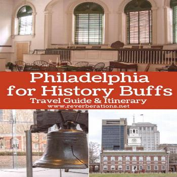 Guide & itinerary for a day in Philadelphia for history buffs. Full of history the city played an i