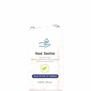 HIMISSU Hand Sanitiser Gel Refreshing Hand Gel No-Touch Hand Wash Travel Size Long-Lasting Speed Dr