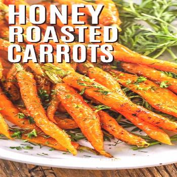 Honey Roasted Carrots - Spend With Pennies -  My family loves this easy honey roasted carrots recip