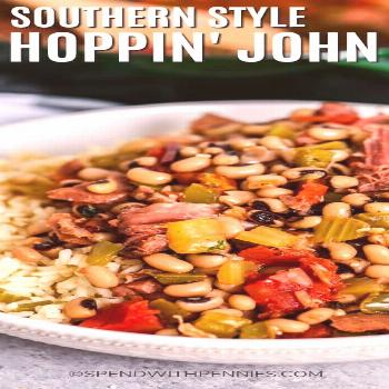 Hoppin' John Southern-Style - Spend With Pennies#hoppin