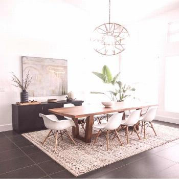 How To Create An Affordable Modern Rustic Dining Room | Posh Pennies,  How To Create An Affordable