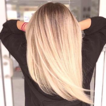 How to maintain a cool shade of blond? DIY shampoo recipe for pennies#blond