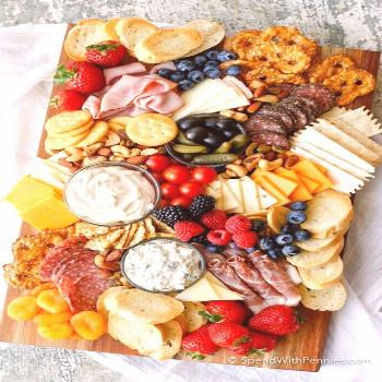 How to Make a Charcuterie Board - Spend With Pennies#board
