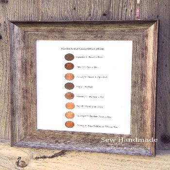 I loved the idea of using pennies from significant years as some sort of decor. ...-#Decor I loved