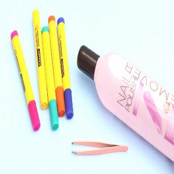 I Turned Old Markers Into Nail Polish Remover Pens & It Might Be The Best Hack E... -  I Turned Old