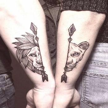 Ink your love with these creative couple tattoos - artists -  Ink your love with these creative cou