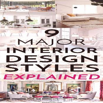 Interior Design Styles For Beginners: 9 Popular Styles Explained | Posh Pennies Interior Design Sty