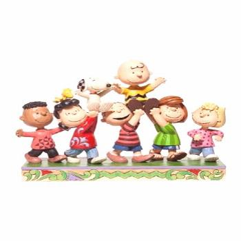 Jim Shore - Peanuts Gang Statue