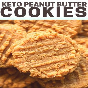 KETO PEANUT BUTTER COOKIES! - THE BEST recipe for low-carb keto peanut butter cookies! They are so