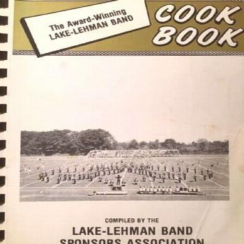 Lake Lehman Band Cookbook. 1979.  Pennsylvania. Lake Lehman Band Cookbook. 1979.  Pennsylvania.