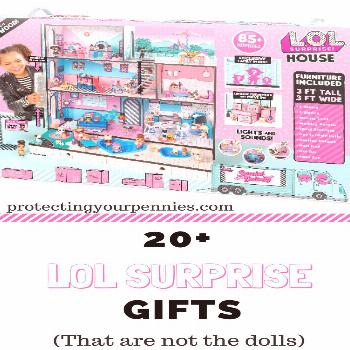L.O.L Surprise Dolls Gift Guide for Young Girls - Protecting Your Pennies | | Gift guide with all t