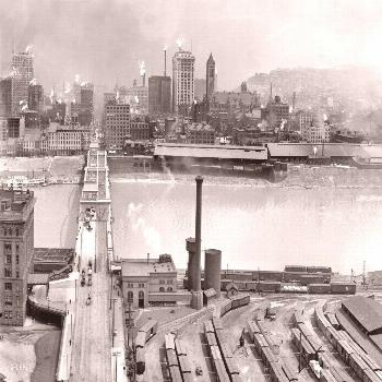 Lovely 1905 View of Pittsburgh From Mt. Washington