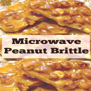 Microwave Peanut Brittle. A super easy and fuss free recipe. Perfect for the holidays and great for