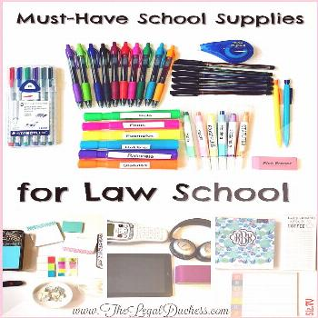 My Must-Have School Supplies for Law School Highlighters pens Post-its- Oh My Ch...,  My Must-Have