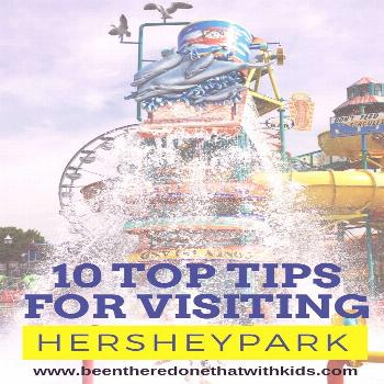 My Top Ten Tips for Hersheypark Find tips for visiting Hersheypark for kid-friendly fun in Hershey,