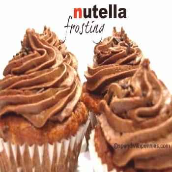 Nutella Frosting Recipe… Easy and delicious! - Spend With Pennies -  Nutella Frosting Recipe… E