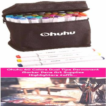 Ohuhu 60 Colors Dual Tips Permanent Marker Pens Art Supplies Highlighters 1. Do You Agree with This