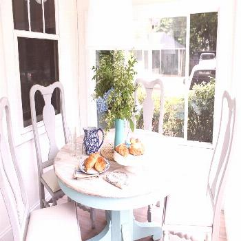 Our Sunroom Furniture (Before & After) - Finding Silver Pennies#finding