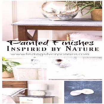 Painted Finishes Inspired by Nature - Finding Silver Pennies  Best Picture For  ... -  Painted Fini