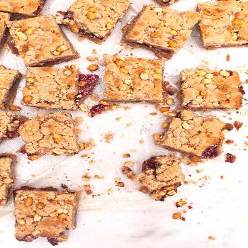 Peanut Butter and Jelly Squares