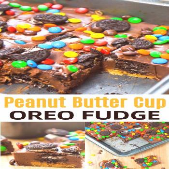Peanut Butter Cup Oreo Fudge - This is Not Diet Food Peanut Butter Cup Oreo Fudge is an easy microw